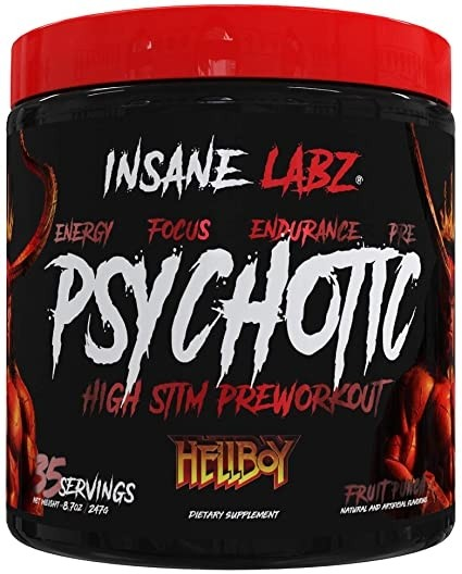 psychotic hellboy