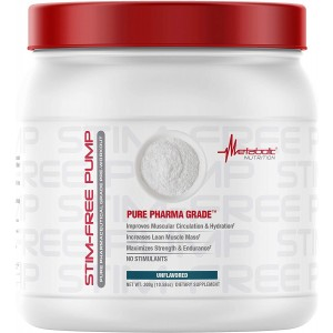 Metabolic Nutrition - Stim Free Pump